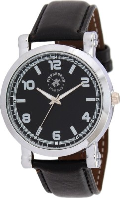 Pittsburgh Polo Club PBPC-482-BLK_377 Analog Watch  - For Men