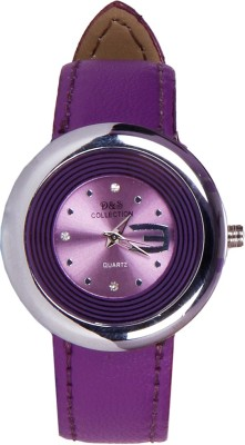D&S Collection D&S119 Analog Watch  - For Girls, Women