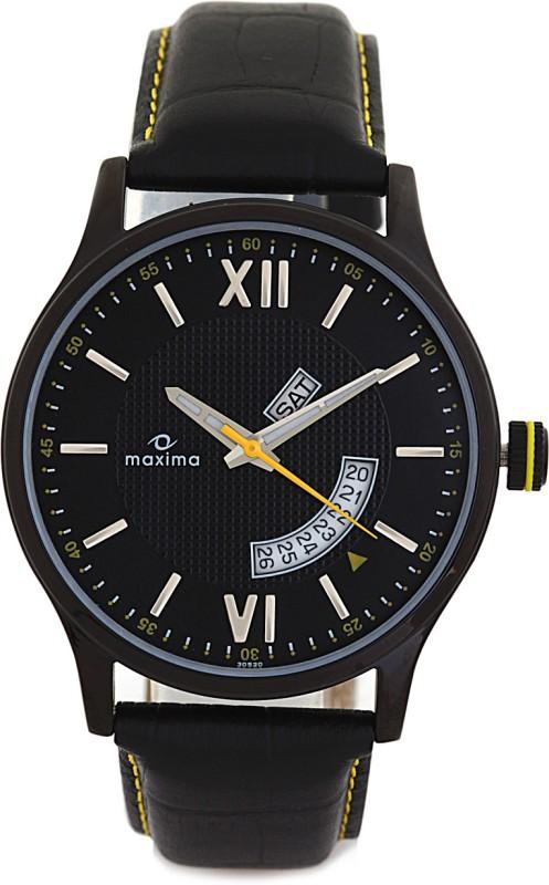 Maxima 30520LMGB Attivo Analog Watch For Men