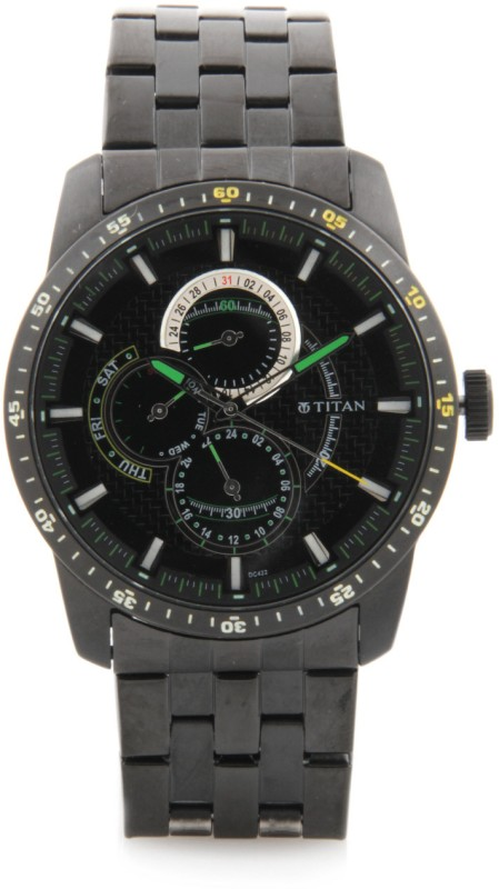 Titan NF9449NM01 Ssteele Collection Analog Watch For Men