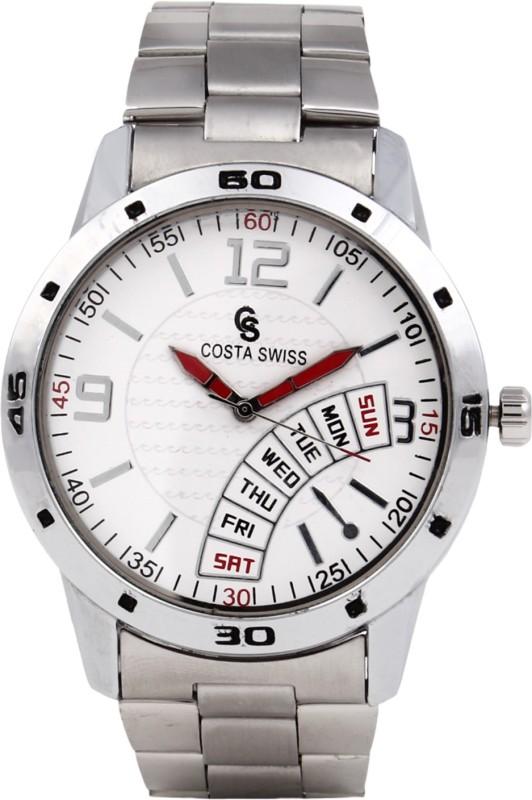 Costa Swiss CS 2003 Milestone Analog Watch For Men