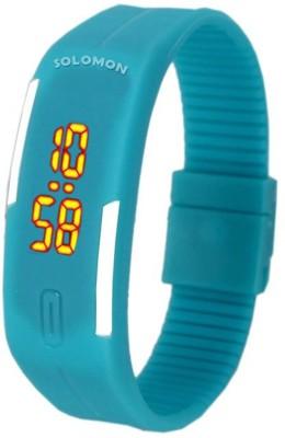 Solomon SOSKYBLUBAND02 Digital Watch  - For Girls, Boys, Women, Men