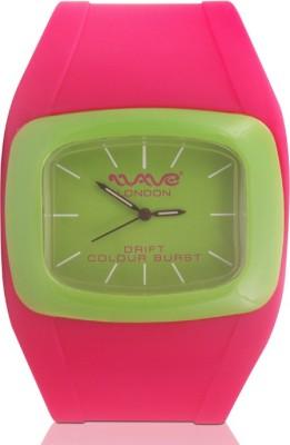 Wave London Wave London Drift Colour Burst Pink & Green Watch (Wl-Cb-Pkg) Drift Colour Burst Analog Watch  - For Women