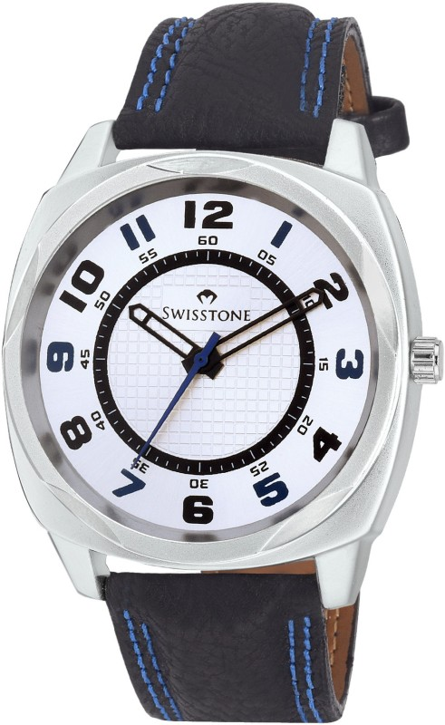SWISSTONE FTREK027 WHT BLK Analog Watch For Men