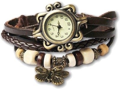 Ely Crazy Butterfly Analog Watch  - For Girls