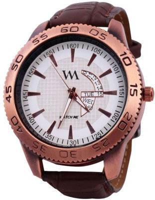Watch Me WMAL-0031-Whitex Watches Analog Watch  - For Men