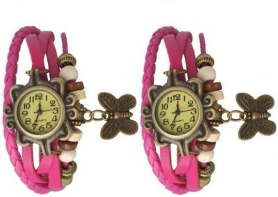 Users BTR2PNK Analog Watch  - For Girls, Women