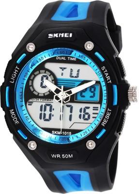 Skmei AD1015-Blue Sports Analog-Digital Watch  - For Men & Women