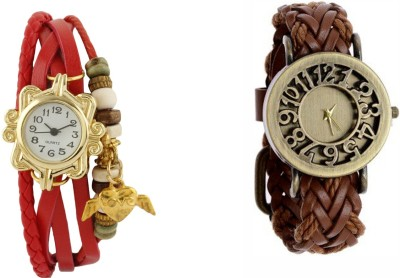 COSMIC RN - 3382 PACK OF 2 WOMEN BRACELET WATCHES Analog Watch  - For Women