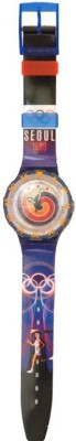 Swatch SRS 108 RARE Olympic Watch Seoul Edition Analog Watch  - For Men, Women