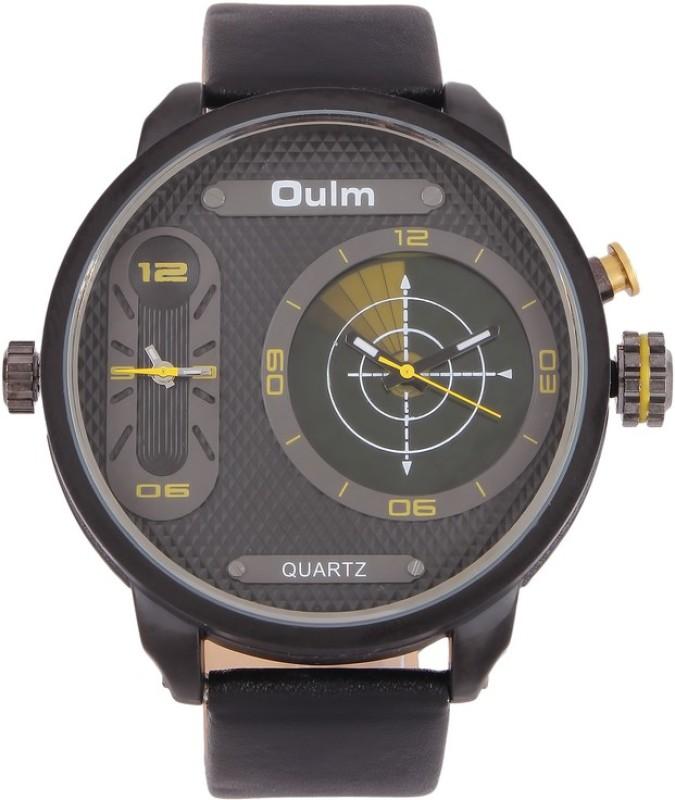 Oulm HP3221BYE Analog Digital Watch For Men