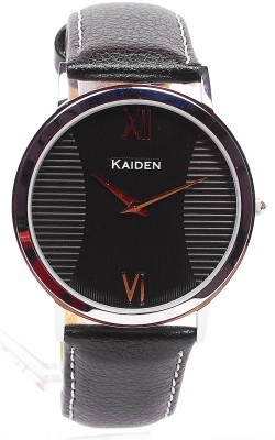 Kaiden S102 Desire Black Analog Watch  - For Men