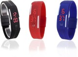 Style Feathers Combo Led Digital Watch  ...