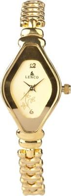 Lenco CPLENCOLADIESGOLDG Golden Beauty Analog Watch  - For Women