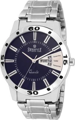 Swisstyle SS-GR8416-BLU-CH Rado Series Analog Watch  - For Men, Boys