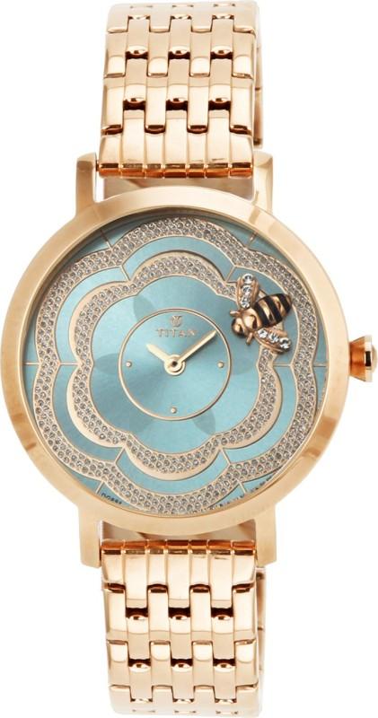 Titan 95050WM03J Analog Watch For Women