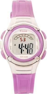 Vizion 8523-7purple Sports Series Digital Watch  - For Boys, Girls