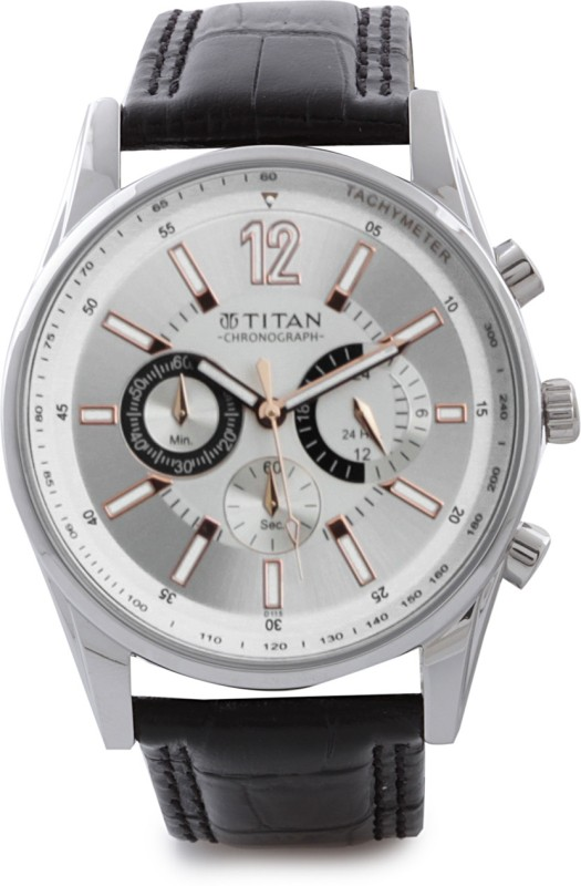 Titan NH9322SL01 Classique Analog Watch For Men