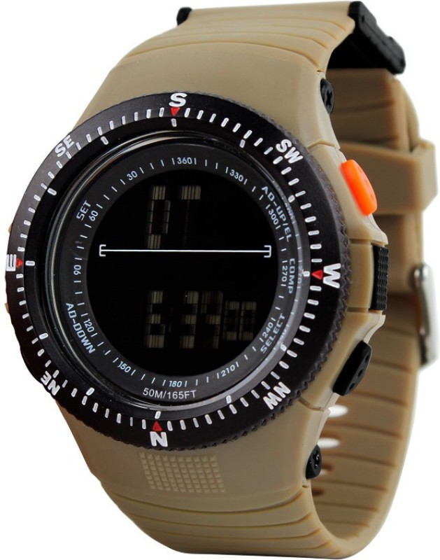 Skmei AJDG0989 BRN Lcd Digital Watch For Men