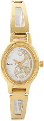 Sonata 8085YM02C Wedding Analog Watch  - For Women