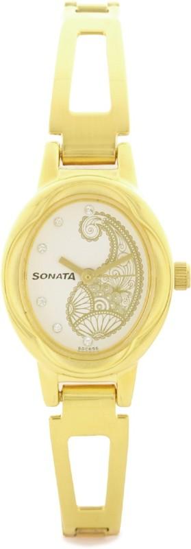 Sonata 8085YM02C Wedding Analog Watch For Women