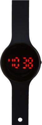Jack klein Black Strap Led Digital Watch  - For Men, Boys, Girls, Women