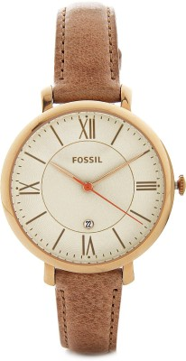 Fossil ES3487 Jacqueline Analog Watch - For Women