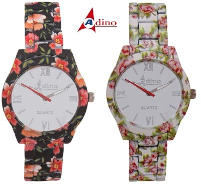 Adino Classic Valentine Q09 Casino Analog Watch  - For Girls