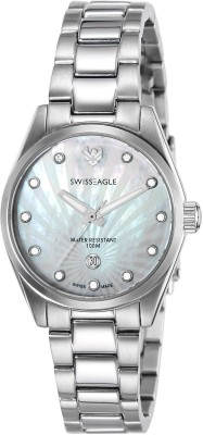 Swiss Eagle SE-6048-22 Special Collection Analog Watch  - For Women