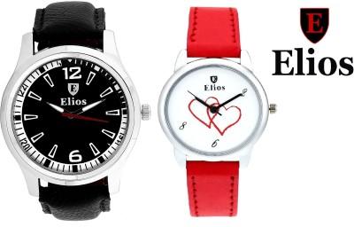 Elios EWMC12-35 Couple Combo Analog Watch  - For Men, Women