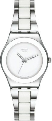 Swatch YLS141G Spring Summer Analog Watch  - For Women