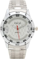 Dice DCMLRD35SSSLVWIT105 Numbers Analog Watch  - For Men