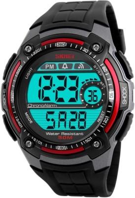 Skmei Gmarks-3021-Red Sports Digital Watch - For Men & Women