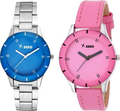 Xeno ZD000235CL Blue Pink Combo Women Analog Watch  - For Girls, Women