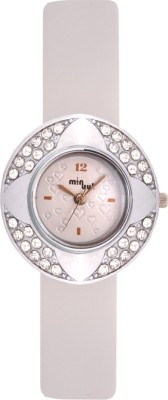 Minuut MNT-030-L-WHT Analog Watch  - For Women