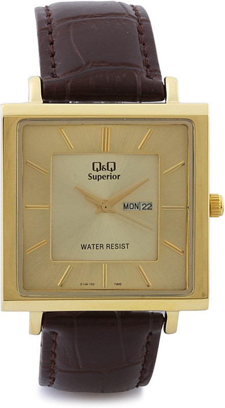 QQ S194 100Y Analog Watch For Men