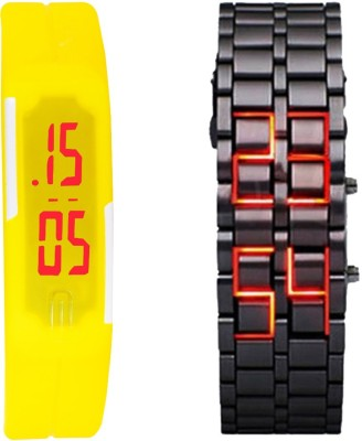 Oxhox Combodeal6 Digital Watch  - For Couple