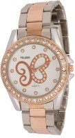 Felizer Rose Gold Diamond Analog Watch  - For Women