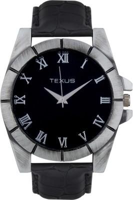 Texus TXMW75Antique Black Analog Watch  - For Men, Boys