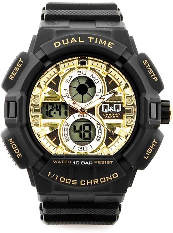QQ GW81N003Y 1100S CHRONO Analog Digital Watch For Men