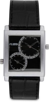 Fluid FL-124-IPS-BK01 Analog Watch  - For Men
