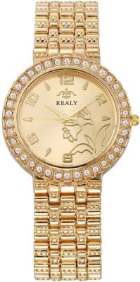Realy W1186GO Analog Watch  - For Women