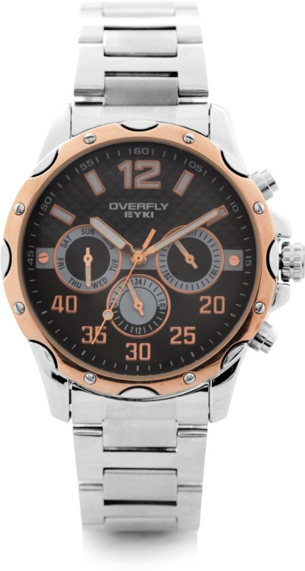 Over Fly EOV8572L SRG02 Analog Watch For Men