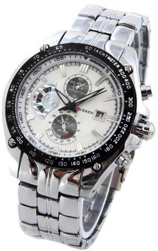 Curren CUR 02 Metal Chain Analog Watch For Men