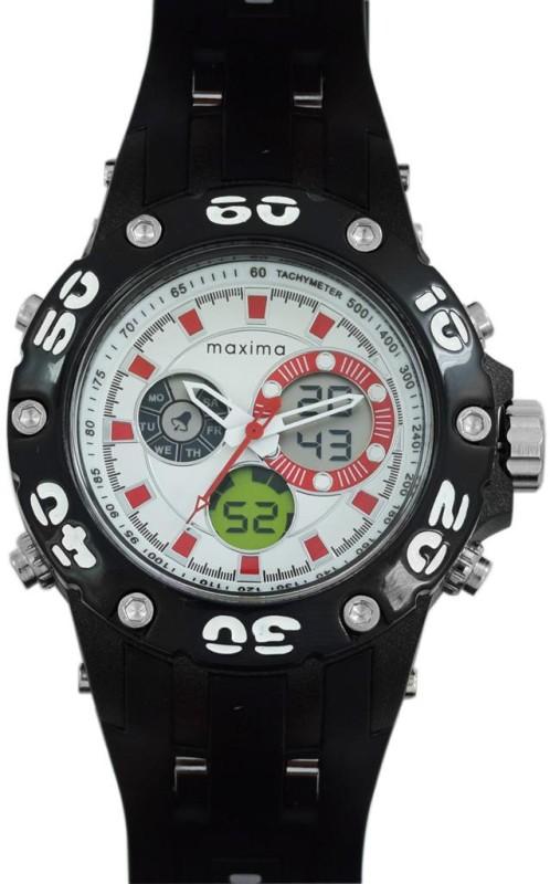 Maxima 33360PPAN Fiber Analog Digital Watch For Men