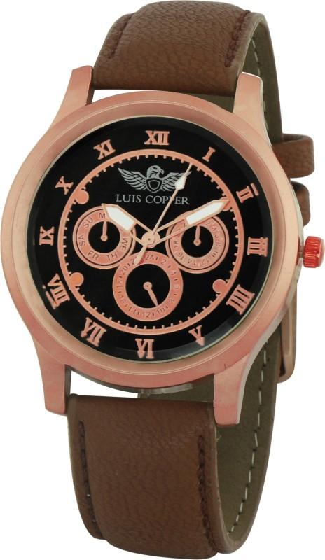 LUIS COPPER LUIS947BR39 New Style Analog Watch For Men