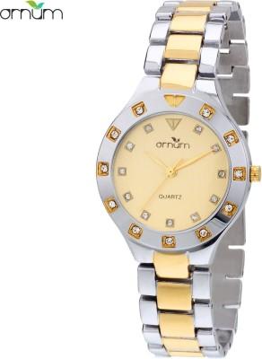 Ornum OL-31-BM-YD Analog Watch  - For Women, Girls