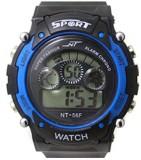 Aviva Blue In Blk Digital Watch  - For B...