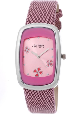 Oxter OX-8040-PRINTED-PK Stylo Analog Watch  - For Women