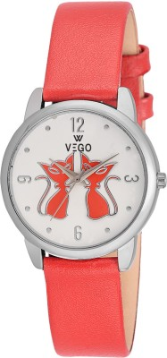Vego AGF027 Vego Red Color Analog Watch For Women,s(AGF027) Analog Watch  - For Women